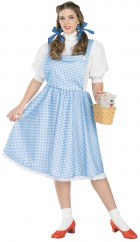 The Wizard of Oz  Dorothy Adult Plus Women's Costume