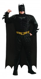 Batman Dark Knight - Batman Muscle Chest Deluxe Adult Plus Costume