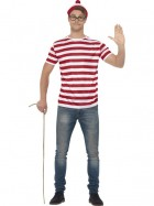 Where's Wally Adult Costume Kit