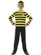 Where's Wally Odlaw Child Costume