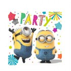 Despicable Me Minion Made 2 Ply Luncheon Napkins Pack of 16