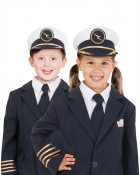 Qantas Mini Uniforms - Pilots Hat