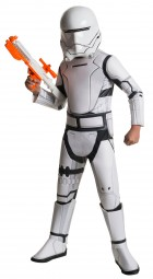 Star Wars Episode 7 The Force Awakens Flametrooper Super Deluxe Child Costume