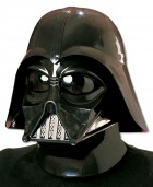 Star Wars Darth Vader 2 Piece Injection Molded Mask Adult Costume Accessory