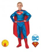 Superman Deluxe Digital Print Child Costume
