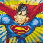 Superman 2 Ply Luncheon Napkins Pack of 16