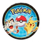Pokemon Pikachu & Friends Round Paper Luncheon Plates Pack of 8