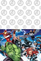 The Avengers Tablecover