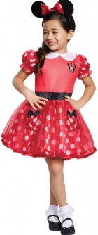 Red Minnie Mouse Infant / Toddler Costume