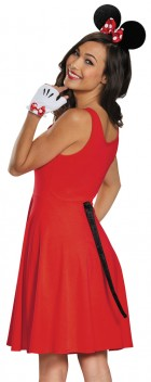 Minnie Mouse Adult Costume Kit With Tail