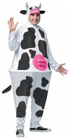 Hoopster Cow Adult Costume