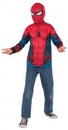 Spider-Man Shirt Mask Child Costume Set