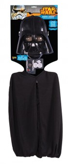 Star Wars Darth Vader Child Face Mask & Cape Costume Accessory Kit