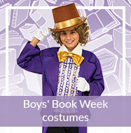 Book Week costumes for boys