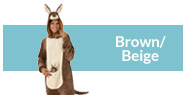 Brown & beige costumes and accessories