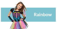 Rainbow costumes and accessories