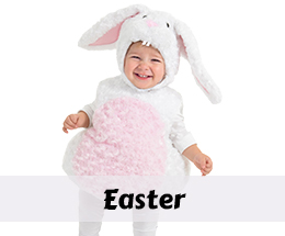 Easter costumes and party decorations.