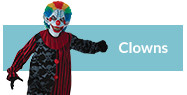 Clown Halloween Costumes